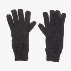 Zwarte kinder handschoenen
