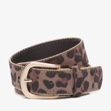 Leopard dames riem