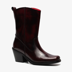 TwoDay leren dames western laarzen