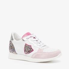 Groot leren meisjes sneakers