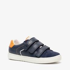 Groot leren jongens sneakers