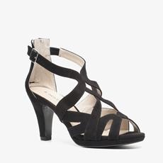 Novocento suede dames sandalen