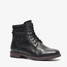 Cafe Moda leren heren veterboots