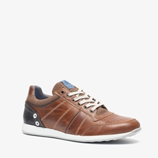 TwoDay leren heren sneakers