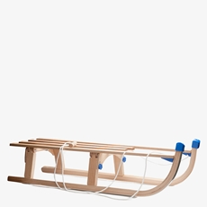 Nijdam opvouwbare houten slee 110cm
