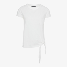 Jazlyn geknoopt dames t-shirt
