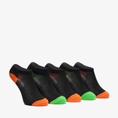 5 paar jongens sneakersokken
