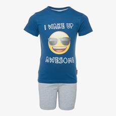 Emoji jongens shortama