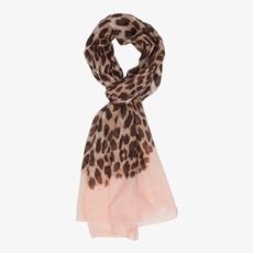 Dames sjaal met luipaard print