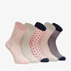 5 paar dames sokken
