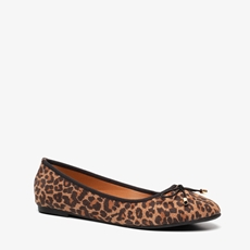 Blue Box dames leopard ballerina's