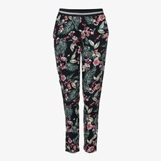 Jazlyn dames broek met bloemenprint