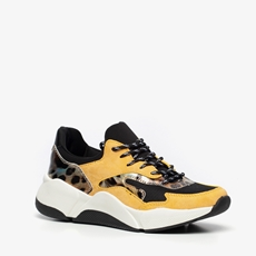 Claudia Ghizzani dames leopard dad sneakers