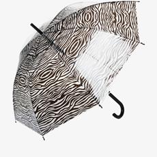 Paraplu met strepen