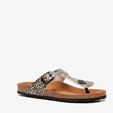 Hush Puppies dames leopard bio teenslippers