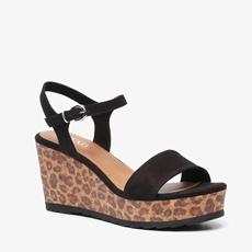 Nova dames leopard sandalen