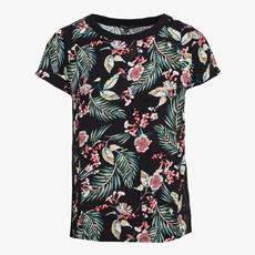 Jazlyn dames t-shirt met bloemenprint