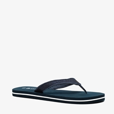 Blauwe dames teenslippers