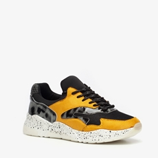 Dames leopard dad sneakers