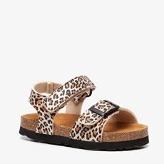 Hush Puppies meisjes leopard bio sandalen