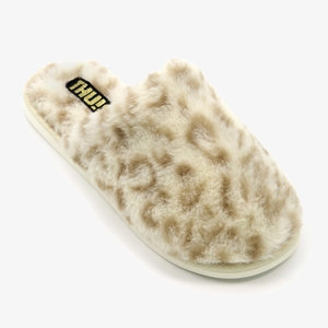 Thu!s dames pantoffels met luipaardprint