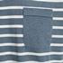 Unsigned gestreept heren T-shirt 3