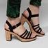 Blue Box dames hak sandalen 8
