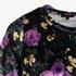 Jazlyn dames velvet t-shirt bloemenprint 3