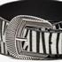 Dames cowboy riem met zebraprint 2