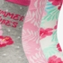 3 paar kinder sokken met bloemenprint 2