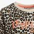 Ai-Girl meisjes sweat dress met luipaardprint 3