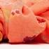 Dames sjaal met bloemenprint 2