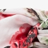 Dames sjaal met rozenprint 2