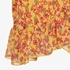 Jazlyn dames rok met bloemenprint 3