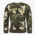 Oiboi jongens sweater met camouflage print