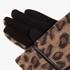 Dames handschoenen met luipaardprint 3