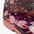 Gevoerde kinder regenlaarzen met bloemenprint 8