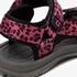 Blue Box meisjes sandalen met luipaardprint 8