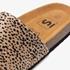 Dames bio slippers met cheetah print 8