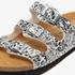 Hush Puppies dames bio slippers met luipaardprint 8