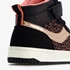Blue Box hoge meisjes sneakers met luipaardprint 6