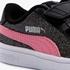 Puma Smash V2 Glitz Glam meisjes sneakers 6