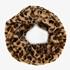 Dames colsjaal met luipaardprint