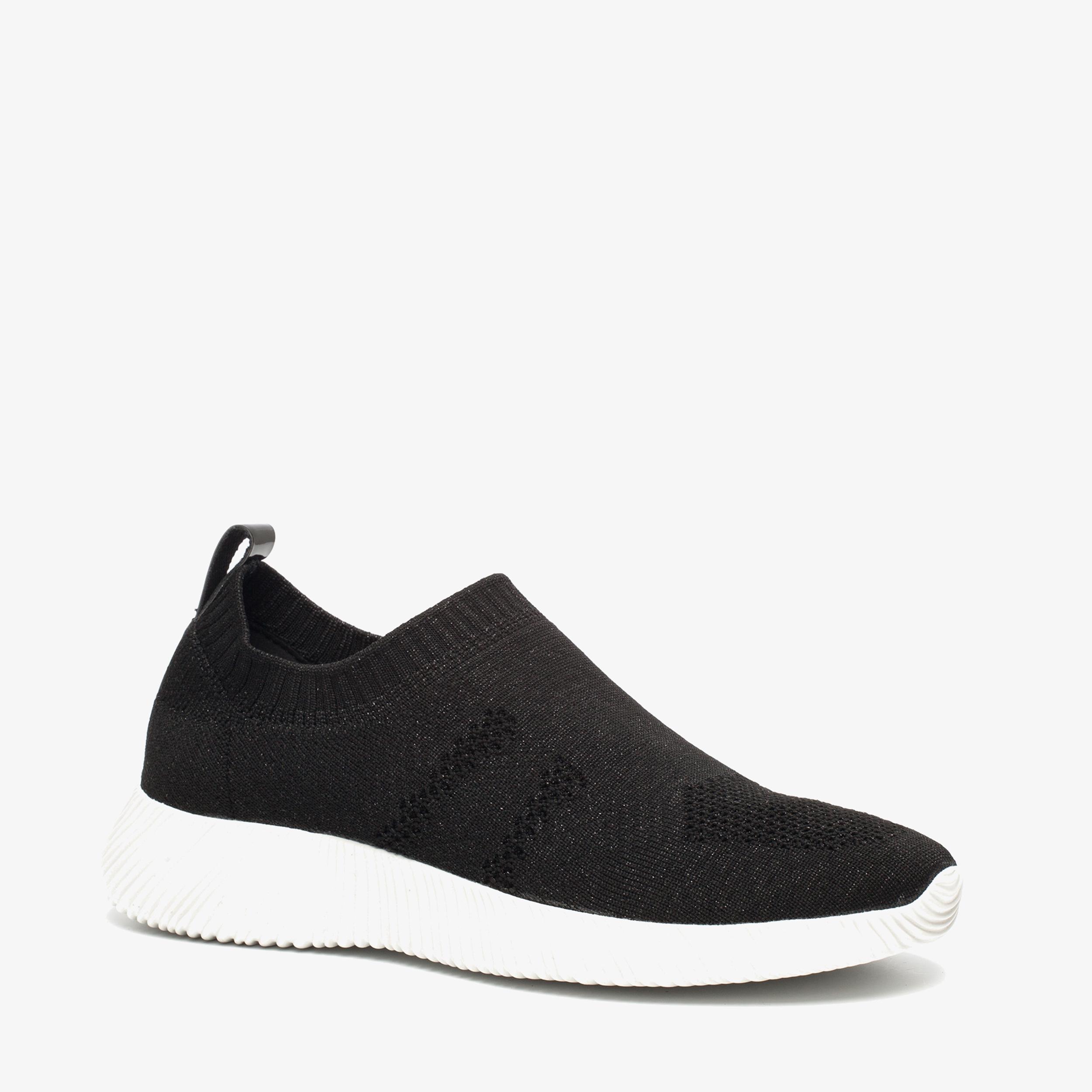 Chaussures Noires Scapino Avec Entrée Pour Dames QBuSB8