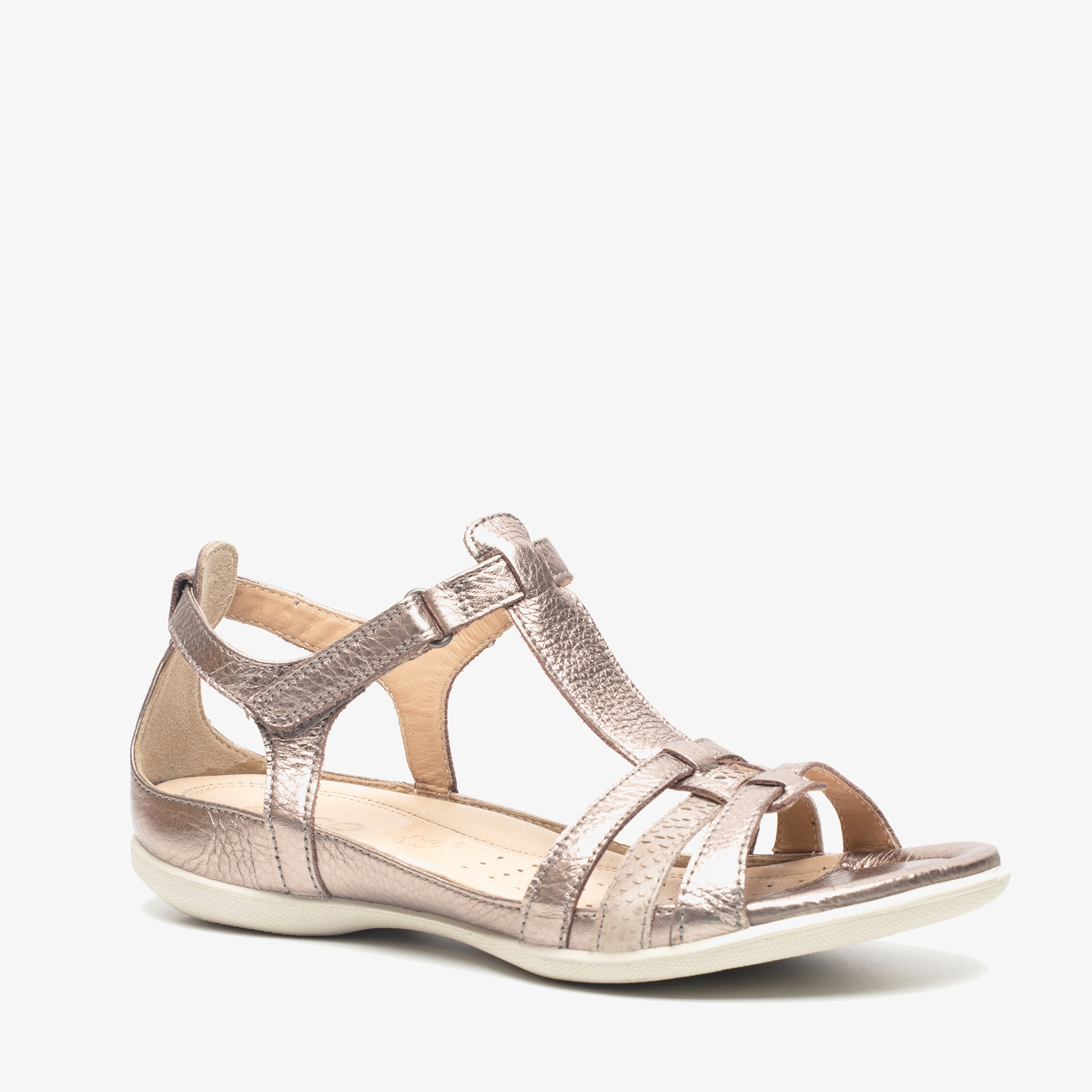 ECCO Flash leren dames sandalen | Scapino.nl