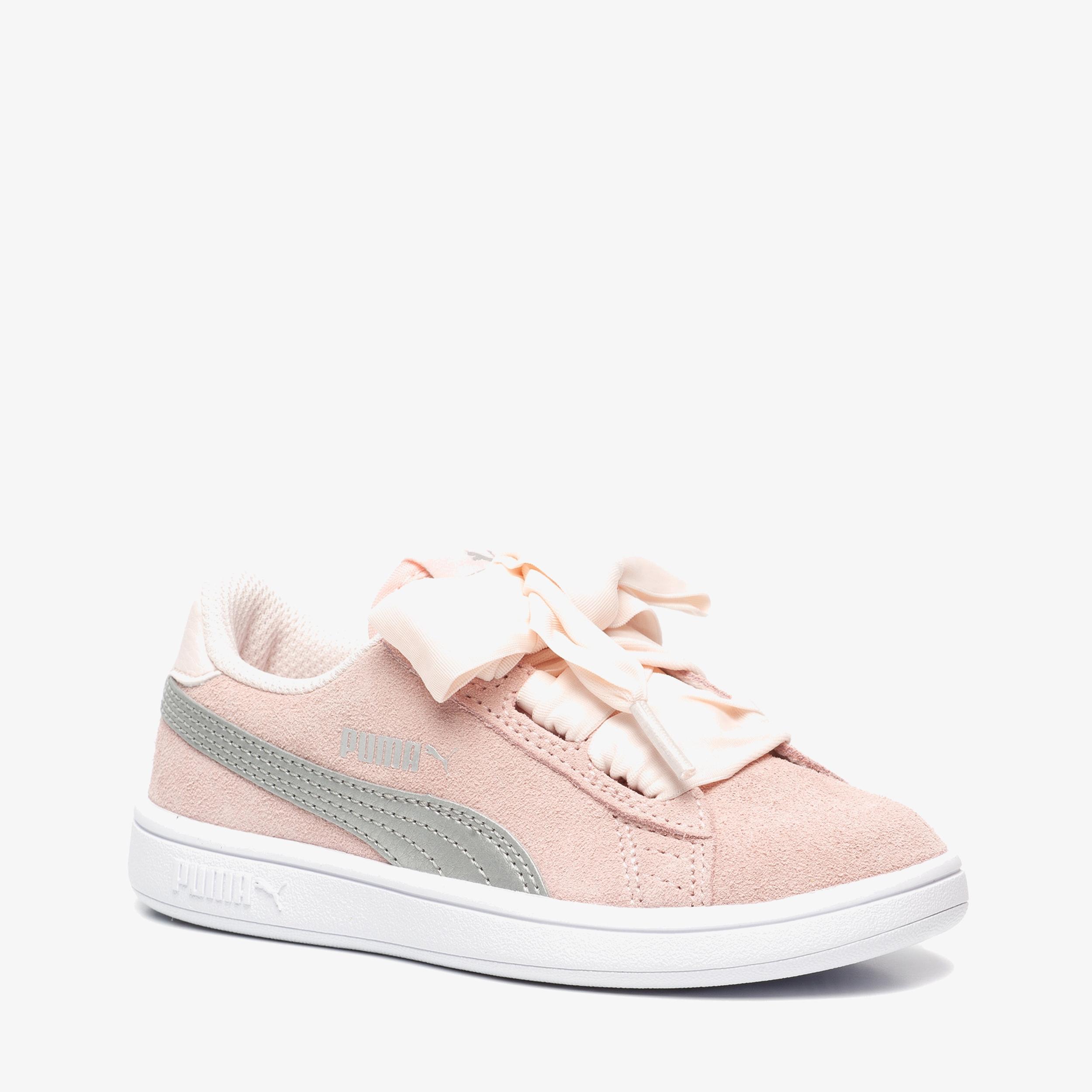 Puma Smash Ribbon suède sneakers Meisjes schoenen en Meisjes