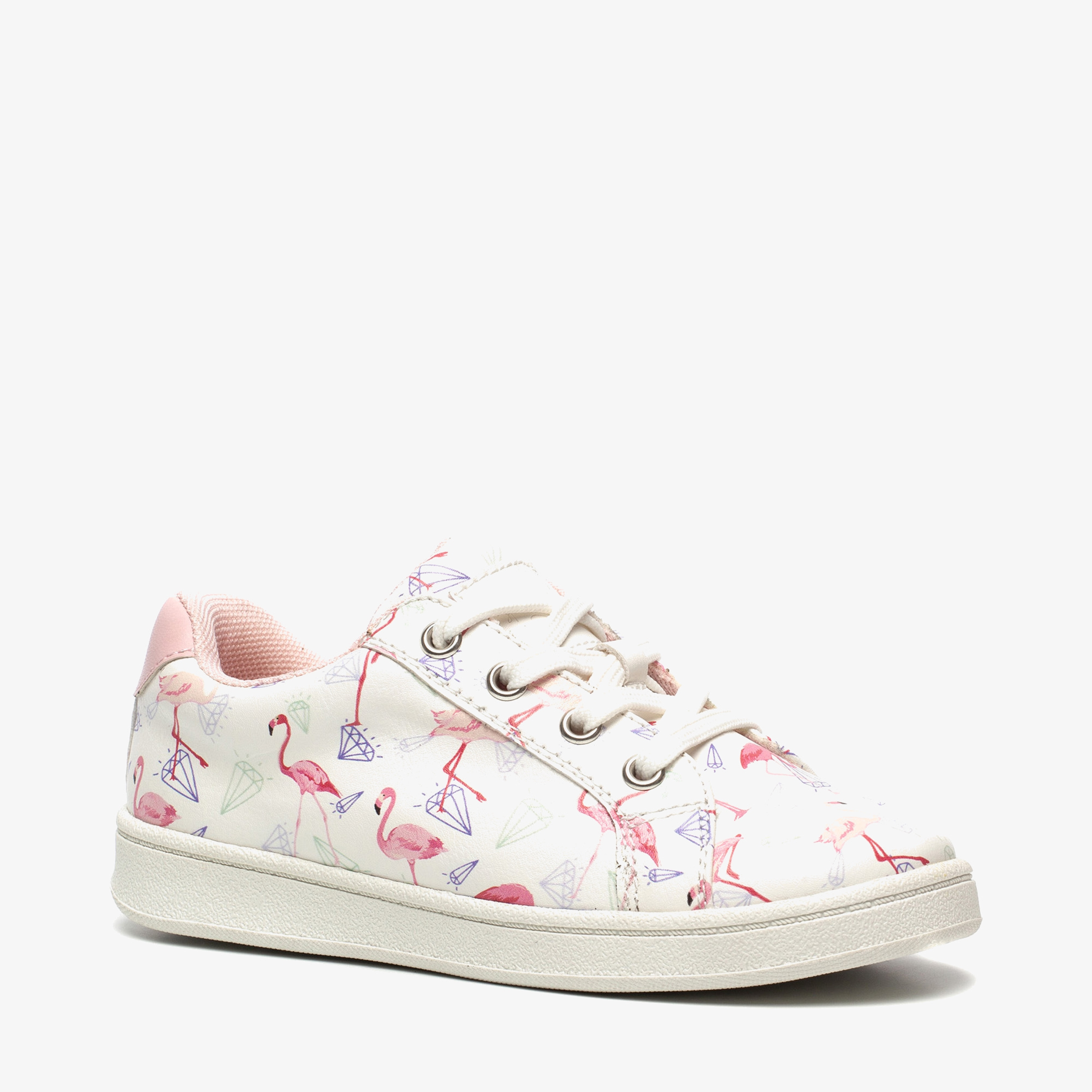 Blue Box meisjes flamingo sneakers | Scapino.nl