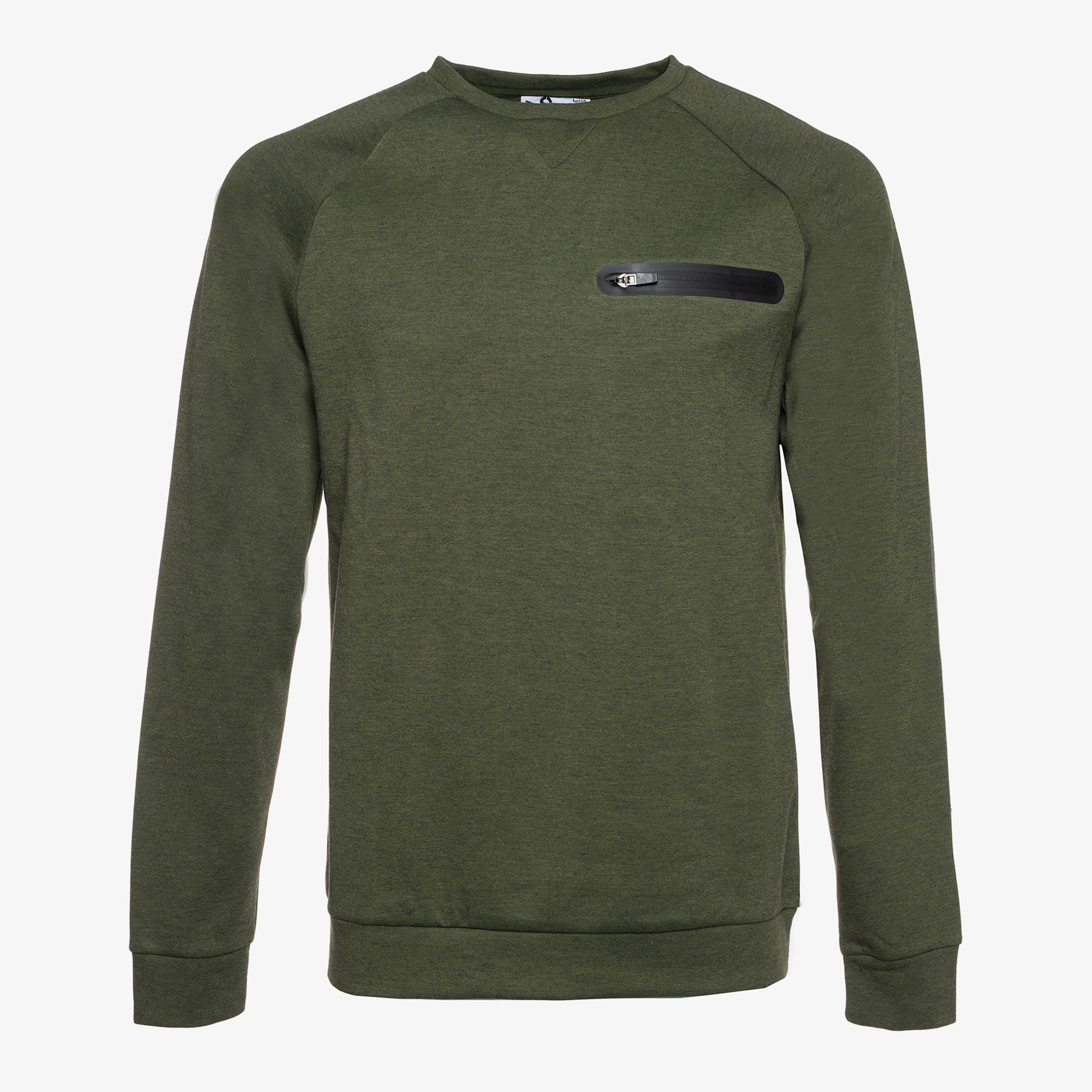 heren sweater, dames sweater folder aanbieding bij Scapino