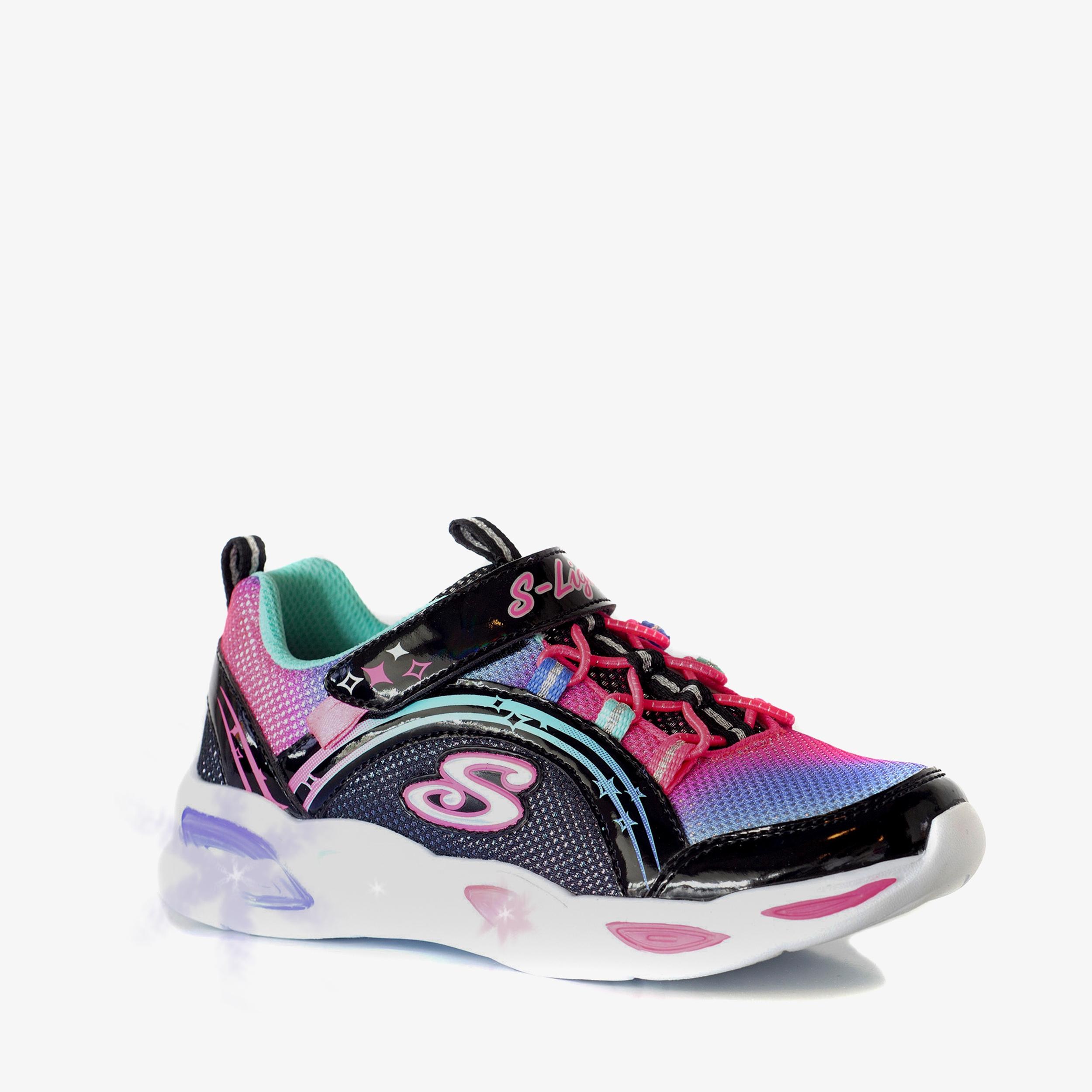 Skechers Shimmer Beams meisjes sneakers | Scapino.nl
