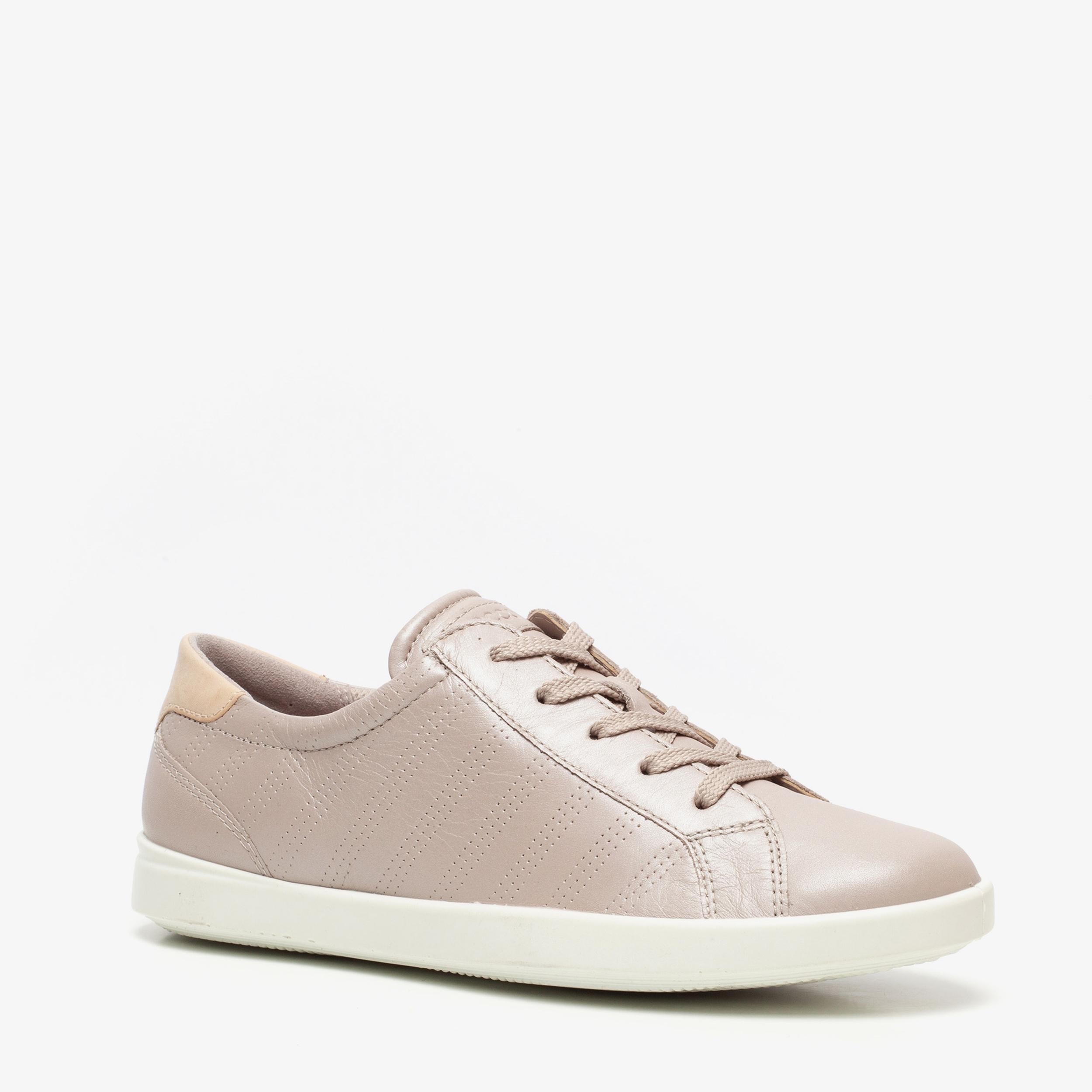 ECCO Leisure leren dames sneakers | Scapino.nl